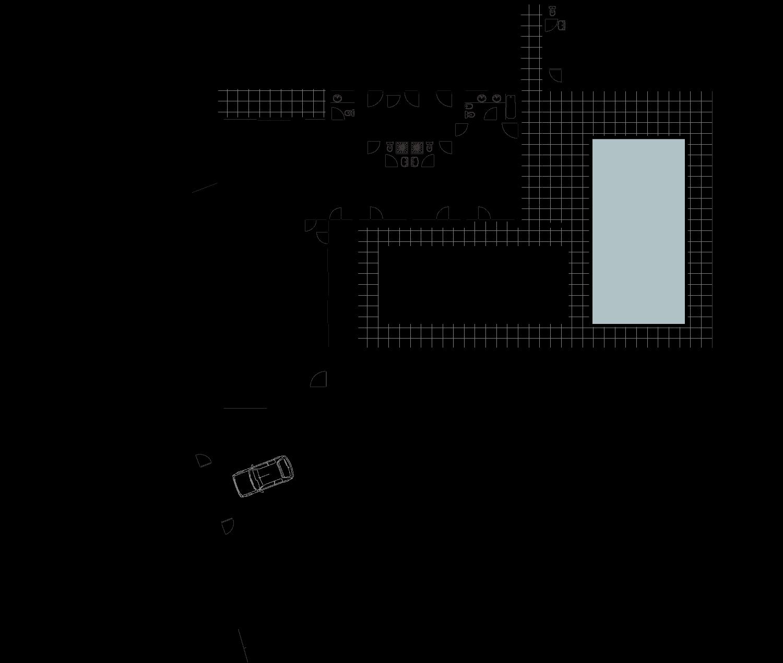 Moradia térrea, T3, com piscina