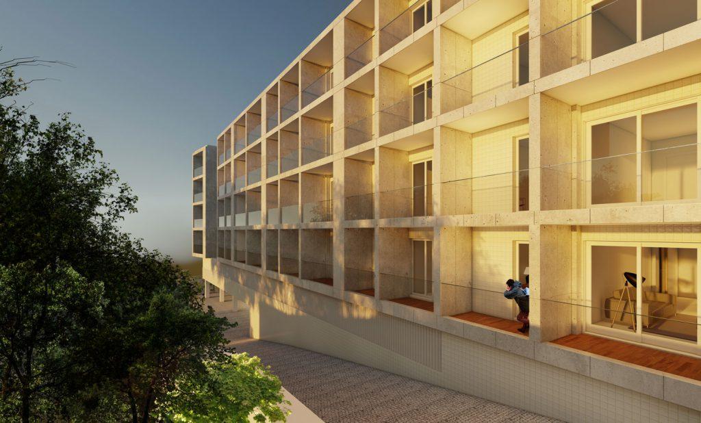 Edificio-de-habitação-plurifamiliar-Areosa-fachada-poente