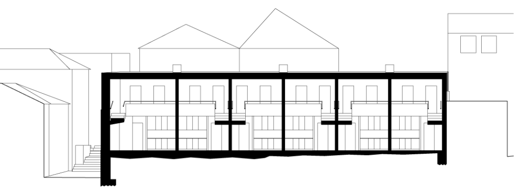 Corte longitudinal