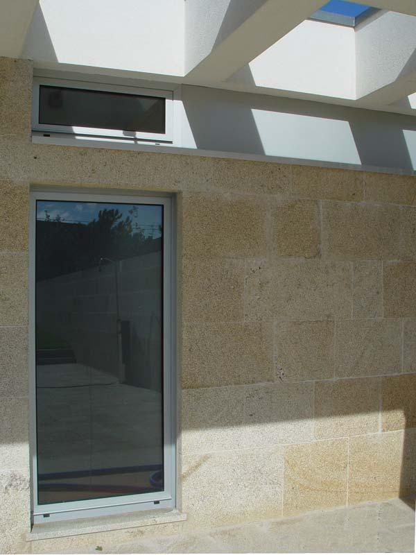 Casa em Barbeita - Pormenor de fachada