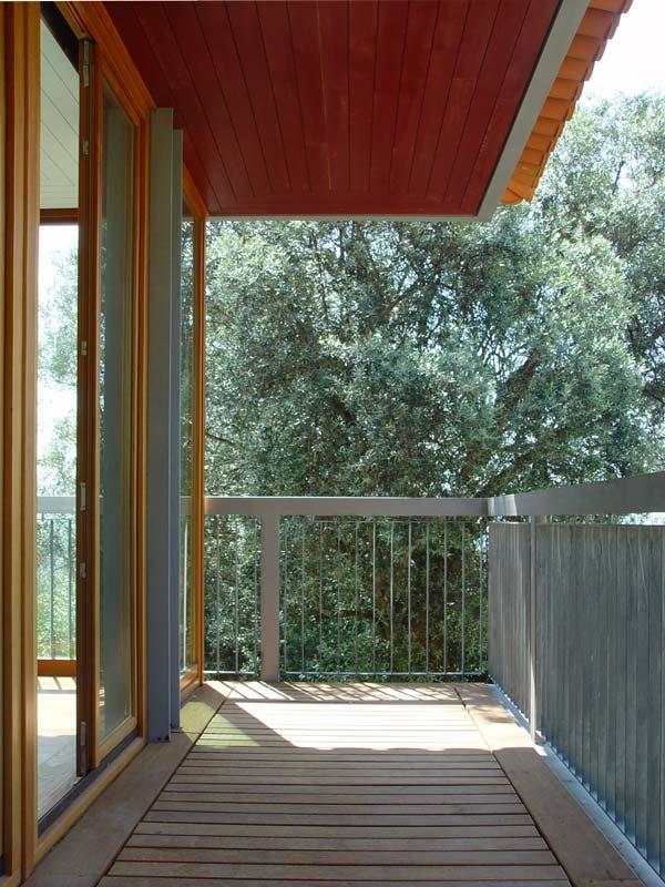 Vista da varanda do quarto principal da casa de quinta, no Pico de regalados, Vila Verde.
