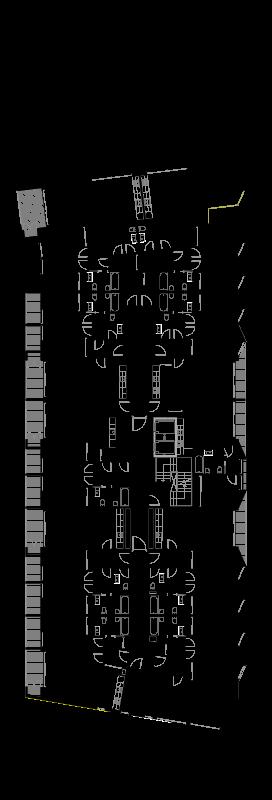 Planta do piso tipo