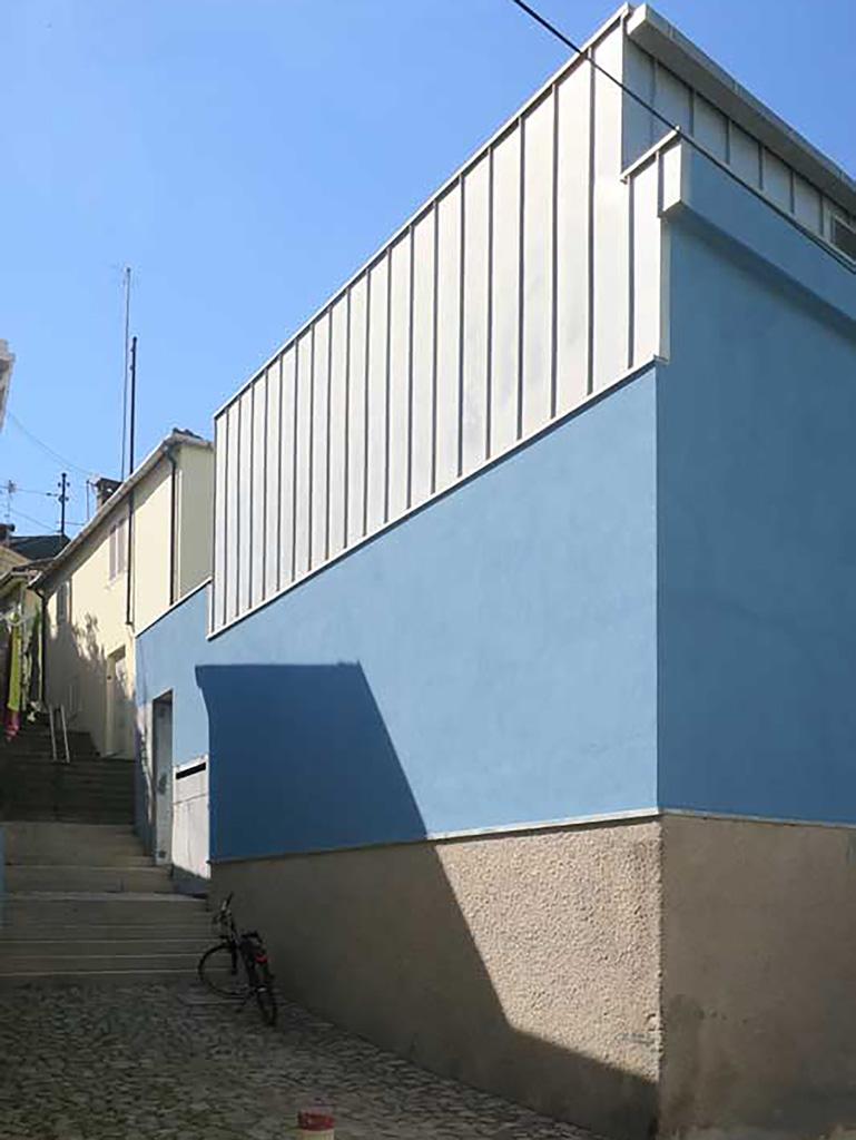 Entrada no edifício