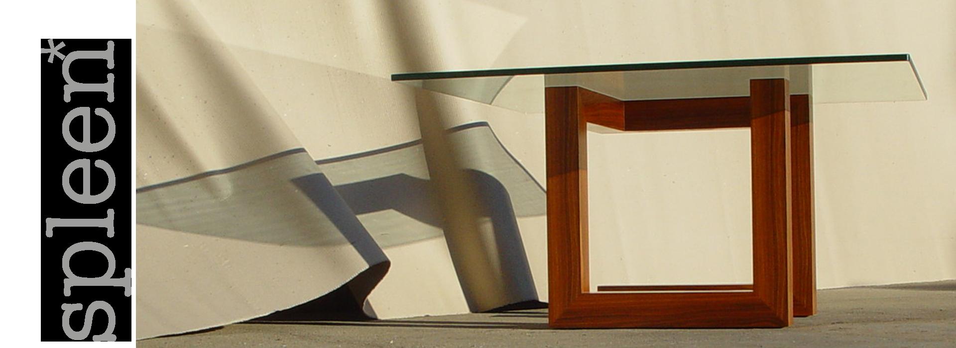 Spleen - Edição de mobiliário contemporâneo - mesa de refeição para seis pessoas