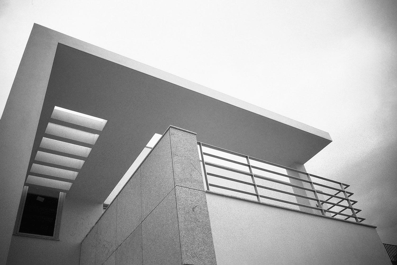 Casa na Foz - Pormenor da pala da fachada