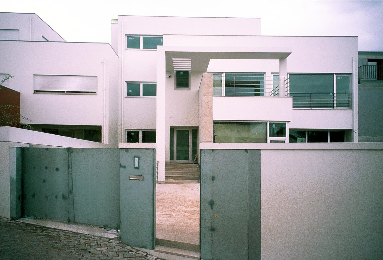 Casa na Foz - Fachada da casa