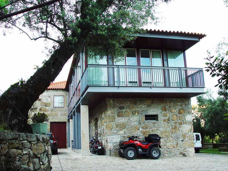 Casa de Quinta no Pico de Regalados - vista da varanda do quarto principal