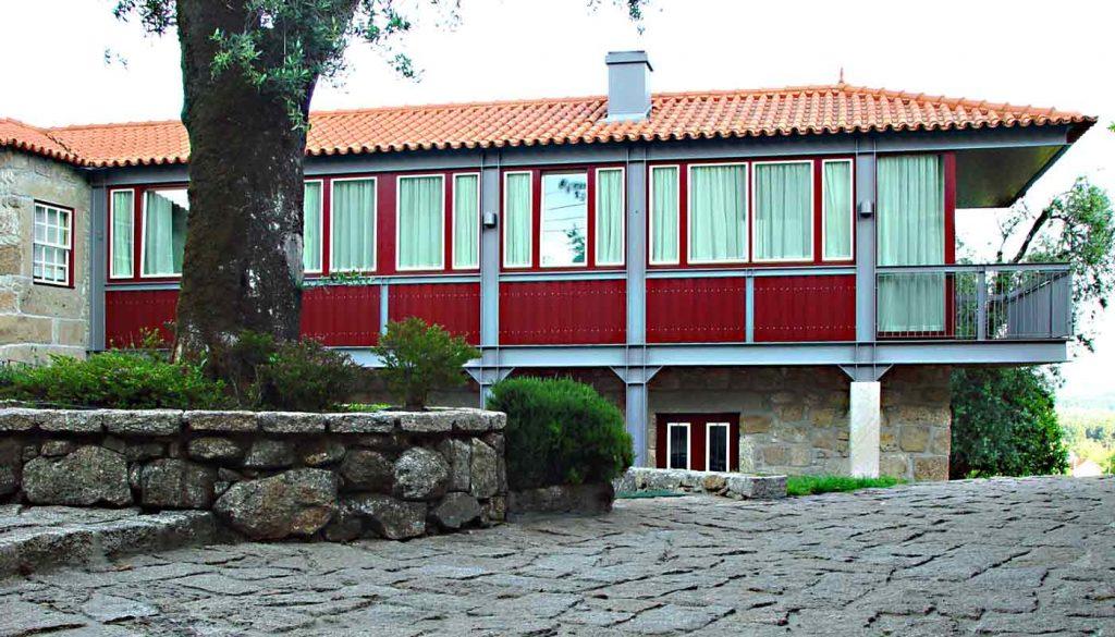 Casa de Quinta no Pico de Regalados - vista do volume ampliado