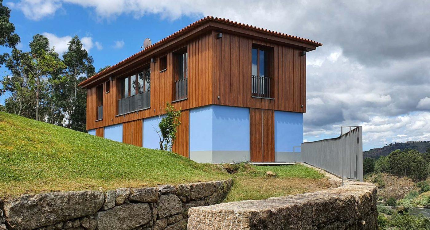 Casa na Barca Nova - vista geral de enquadramento.