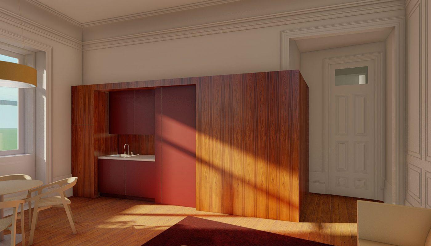 Apartamentos-Boavista-cozinha-folheada