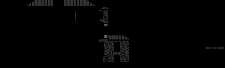 Corte longitudinal do projecto de arquitetura