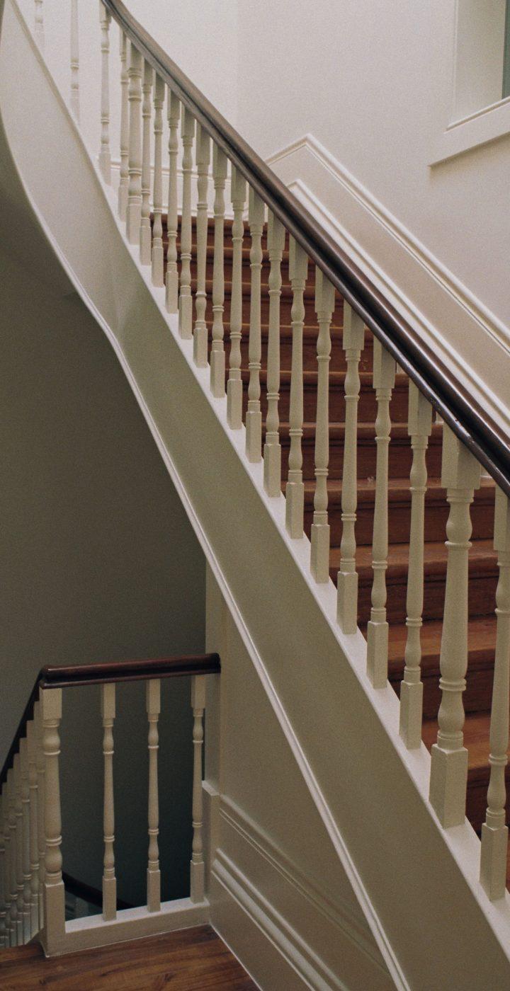 Escadas reabilitadas