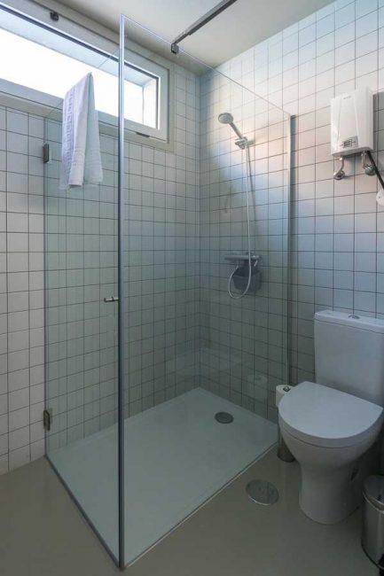 Vista do quarto de banho tipo