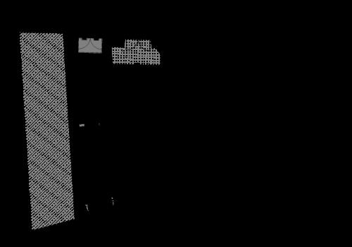Apartamentos e Comércio na Ribeira - R. S. João - Planta do rés do chão